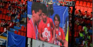 Jacobo en pantalla con otros participantes