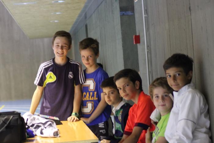 Uno de los equipos del Torneo esperando su turno